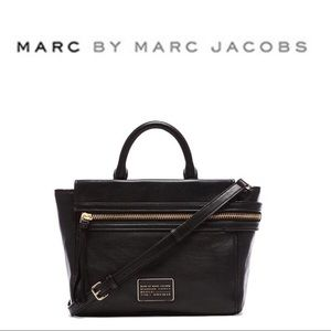 Marc by Marc Jacobs small leather third rail tote